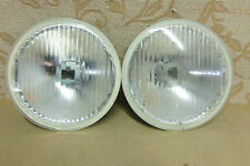 TWO NOS GENUINE HELLA FORD ESCORT Mk3 ORION Mk1 FIESTA Mk2 HEADLIGHTS HEADLAMP