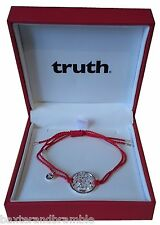 Silver TRUTH Wealth Kalachakra Cord Bracelet