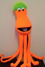 Large blacklight Octopus Ventriloquist Puppet-VBS Ministry, Aquatic, Sealife..