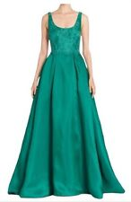 $895 ML Monique Lhuillier Green Emerald Prom/Pageant/Wedding/Gown/Dress Size 6