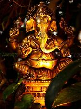 MODERN PHOTOGRAPHY GANESH HINDU GOD ELEPHANT LARGE POSTER ART PRINT BB3161A