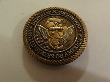 CHALLENGE COIN US DEPARTMENT OF THE NAVY US ARMY COMMAND & GENERAL STAFF COLLEGE