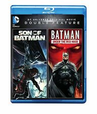 DCU: SON OF BATMAN / UNDER THE RED HOOD  - Sealed BLU RAY Region free