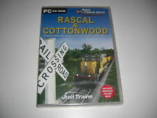 RASCAL & COTTONWOOD Pc Add-On Expansion for Rail Simulator - NEW & SEALED