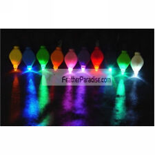 Led Floral Lights / FloraLytes for Tower Vases 12 Pieces - White