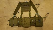 UKSF tailored modified blackhawk H harness molle webbing beltkit & pouches