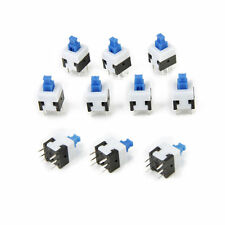 10pcs 6-pin Self-locking Button Switch Button Mini Push Button 25V 1.5A