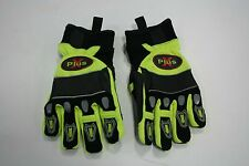 Pro-Tech 8, X Plus, Extrication Rescue Glove, Black and Yellow, Size: X-Large