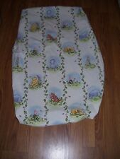 Disney Classic Winnie The Pooh & Friends Fitted Sheet For Bassinet Cradle RARE !