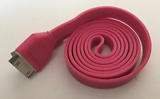 Heavy Duty strong charge Apple iphone 4 4S Ipod 4 Ipad 2 3 USB lead cable pink