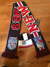 New York Rangers Stadium Series Official Scarf and Hat Beanie Limited Package