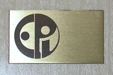 New HUMAN Speakers reproduction brass badge for EPI speakers