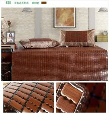 Bamboo bed mat Mahjong like mat sheet rug or floor mat carpet cool竹麻将席 竹席 竹凉席