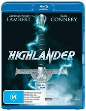 HIGHLANDER*****BLU-RAY******REGION B*****NEW & SEALED
