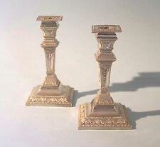 Pair of Antique Silver Plated Candlesticks. Thomas Wilkinson. England. & Antique Silverplated Candlesticks and Candelabras in Age:1850-1899 ...