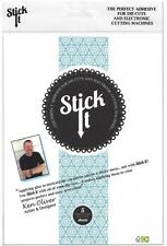 "Stick It ~ Adhesive Sheets for Die Cuts 5 pack 8""x6 1/8"" Acid Free by Ken Oliver"