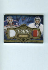 HENRIK LUNDQVIST/TOSKALA 2008-09 UD ARTIFACTS TUNDRA TANDEMS DUAL PATCH SP/35