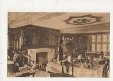 Ludlow Feathers Hotel Coffee Room Vintage Postcard 576a