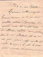 LETTERA DEL 1942 SCRITTA DA CHATILLON VAL D'AOSTA  C6-491