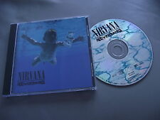NIRVANA : NEVERMIND CD ALBUM LITHIUM TEEN SPIRIT IN BLOOM COME AS YOU ARE BREED