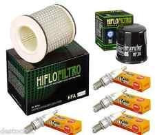 Kit De Mantenimiento filtro aceite/Aire Bujías YAMAHA XJ 600 N/S DIVERSION 92-03
