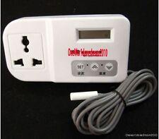 New Digital Probe Reptile Thermostat 38C Incubator Brooder Aquarium Home Brew