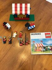 Vintage Lego Knight Joust Tournament Castle Set 383 / 6083 Original Instructions