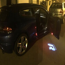 R LINE Led Light Door Logo Emblem Projector HD Kit For VW CC Scirocco Tiguan Eos
