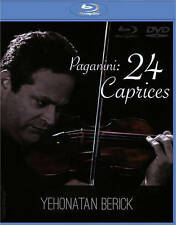 PAGANINI / BERICK-24 CAPRICES (2PC) (W/DVD)  Blu-Ray NEW
