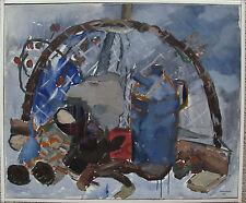 Knut Gerhard Composición de bodegones, fechado 1969