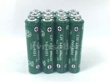 12 AAA Rechargeable Batteries NiMH 600mAh 1.2v Garden Solar Light Nimh H12