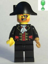 LEGO PIRATE CAPTAIN CHESS KING w/ CUP MINIFIG Pirates III minifigure pi171