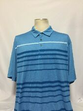 ⛳️Men's Ben Hogan Performance GOLF Short Sleeve Polo Shirt SZ XXL Blue