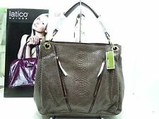 NWT ORYANY Shoulder Bag Mushroom Snake Skin Leather Print & 2Front Zip Pockets