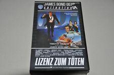 VHS - James Bond Lizenz zum Töten - Timothy Dalton - 1989 - Videokassette