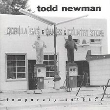 FREE SHIP. on ANY 2 CDs! NEW CD Todd Newman: Temporary Setback
