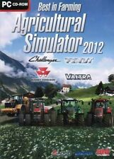 AGRICULTURAL SIMULATOR 2012 Farming Simulation for PC XP/VISTA/7 SEALED NEW
