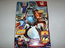 Superman Man of Steel Quick Shots Battle for Metropolis vs general Zod play set