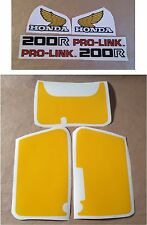 Stickers / Decals Honda XR200R - XRR 200 (83)
