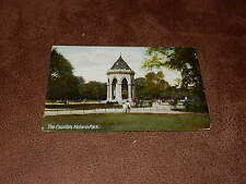 Early Postcard-The Fountain Victoria Park - London Borough of Tower Hamlets