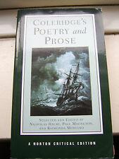 Coleridge's Poetry and Prose A Norton Critical Ed (2004) ISBN 978-0-393-97904-6