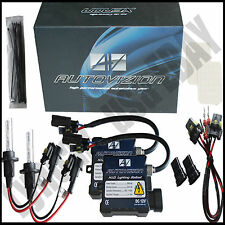 Autovizion HID KIT SLIM Xenon 9007 HB5 10000K Blue Beam Conversion Headlight