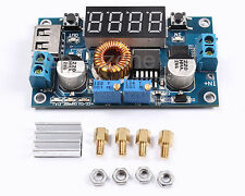 5A LED Drive Lithium Battery Charger with Voltmeter Ammeter  DCDC Module