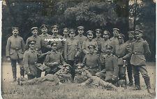 Foto Offiz.-Soldaten teils mit Orden-Säbel  1.WK (398)