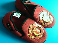 New Infants Slippers Official Manchester United Football Club UK Size C7 (EU 24)