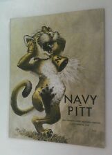 Vintage 1978 PITTSBURGH Pitt Panthers Vs NAVY Football Program W/Ticket Rare