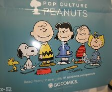 PEANUTS Snoopy Woodstock Charlie Brown Lucy Sally Linus 65 POSTER schulz
