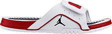 NIB Nike Mens Sz 11 JORDAN HYDRO IV RETRO White Red SANDALS SLIDES 532225 102