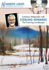 NEW! Luminous Watercolor with Sterling Edwards: The Evening Landscape [DVD]