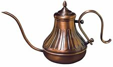 JAPAN BRAND KALITA COPPER COFFEE POT 0.9L - PURE SOLID COPPER MADE IN JAPAN